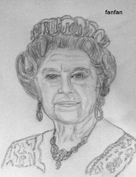 Elizabeth II by fanfan